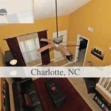 Rental info for Super Cute! Townhouse For Rent! in the Charlotte area