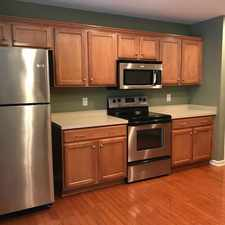 Rental info for Lovely End Unit Townhome With Hardwoods Through... in the Raleigh area