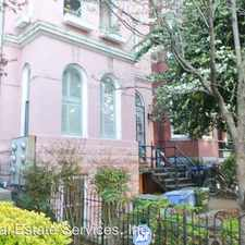 Rental info for 1828 13th Street NW Unit 1 in the Washington D.C. area