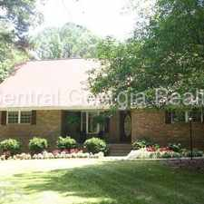 Rental info for 4BR/3.5BA all brick ranch on large wooded lot
