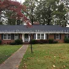 Rental info for 112 Birchwood Drive in the Greenville area