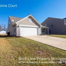 Rental info for 5141 Coloma Court in the Indianapolis area