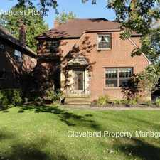 Rental info for 2647 Ashurst Rd. in the Cleveland area