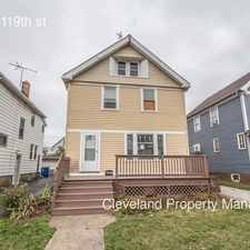 Rental info for 3404 W 119th st in the Cleveland area