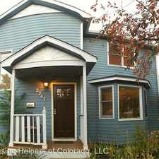 Rental info for 2247 23rd Street in the Boulder area