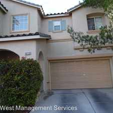 Rental info for 10729 Pipers Cove Lane in the Las Vegas area