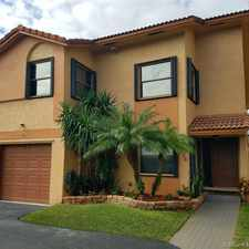 Rental info for 1036 SW 113th Ter in the Pembroke Pines area