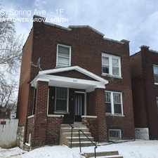 Rental info for 3529 S. Spring Ave. in the St. Louis area