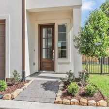 Rental info for This Home Is High And Dry And Did Not Flood! in the Houston area