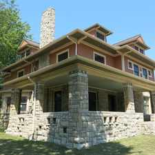 Rental info for Historic 4 Bedroom House in North Hyde Park in the Kansas City area