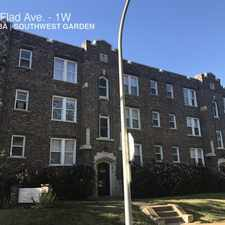 Rental info for 4565 Flad Ave. in the St. Louis area