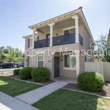 Rental info for Wonderful 3 Bed/3 bath in Cooley Station in Gilbert! in the Gilbert area
