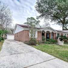 Rental info for Great Cozy Family Home Located On A Cul-de-sac ... in the Houston area