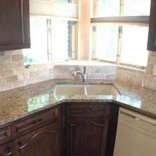 Rental info for 4 Bed 3 Bath 2 Car Garage Home Is In A Quiet in the San Antonio area