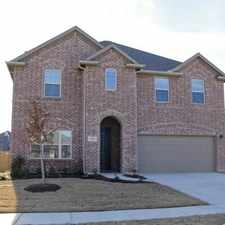 Rental info for Like NEW Holiday Home Available For LEASE! in the Little Elm area