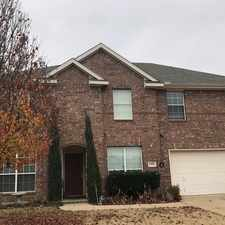 Rental info for Spectacular 2 Story Home In Mansfield. in the Fort Worth area