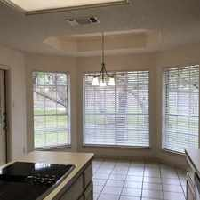 Rental info for 3 Bedrooms House - This Beautifully Well Mainta... in the Shady Oaks area