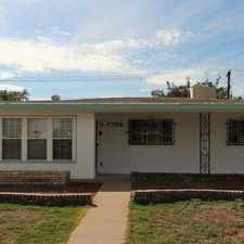 Rental info for House For Rent In El Paso. Parking Available! in the El Paso area