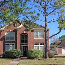 Rental info for 4 Spacious BR In Friendswood. Parking Available! in the Friendswood area
