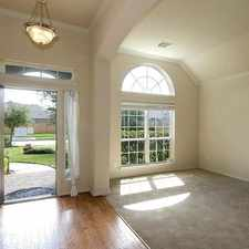 Rental info for Beautiful Home Located In Tuscan Lakes Subdivis... in the League City area