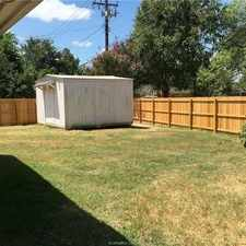 Rental info for Spacious 4 Bed 3 Bath Home. in the Bryan area