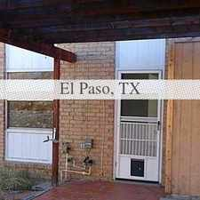 Rental info for Close To Shopping And SchoolsLeasing Details. P... in the El Paso area