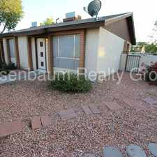 Rental info for 6107 South McKemy Street in the Phoenix area