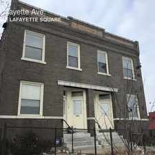 Rental info for 1701 Lafayette Ave. in the Lafayette Square area