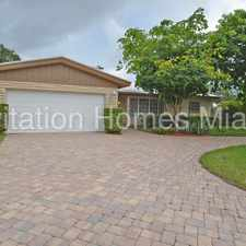 Rental info for 4/2 in Coral Ridge Isles in the Fort Lauderdale area