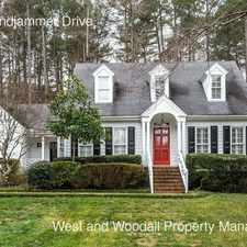 Rental info for 8613 Windjammer Drive in the Raleigh area