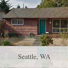 Rental info for Greenwood 2bd Home Presented By Dave Poletti &#... in the Seattle area