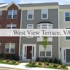 Rental info for West View Terrace, Prime Location 4 Bedroom, To... in the Charlottesville area