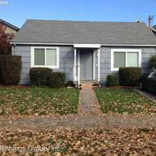 Rental info for 475 & 477 E 19th Ave