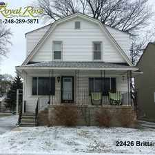 Rental info for Royal Rose Properties in the Eastpointe area
