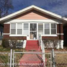 Rental info for 2705 Greenwood Ave