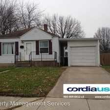 Rental info for 5301 E. 19th Pl. in the Indianapolis area
