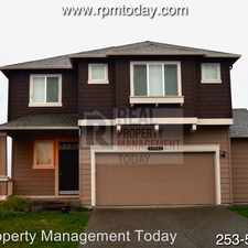 Rental info for 15508 80th Ave Ct E