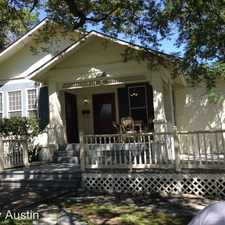 Rental info for 1901 David Street in the Austin area