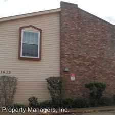 Rental info for 1635 NEWPORT PL UNIT 1 in the Kenner area