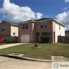 Rental info for Large 2 Story on Corner Lot in the Houston area