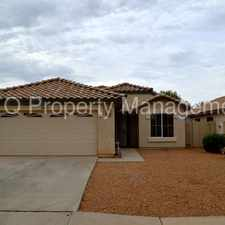 Rental info for Neely Ranch 4 Bedroom Available in March in the Chandler area