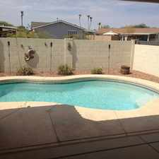 Rental info for 4 Bedroom 3 Bath Home With A Pool In Country Es... in the Peoria area
