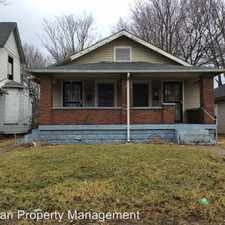 Rental info for 1244-46 W 30th St in the Indianapolis area