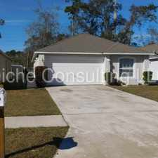 Rental info for Cute 3 Bed / 2 bath contemporary home in quiet Hyde Grove Oak community in the Jacksonville area