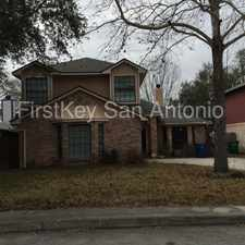Rental info for 9215 Johnny Reb Drive in the San Antonio area