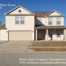 Rental info for 8036 Bach Drive in the Indianapolis area
