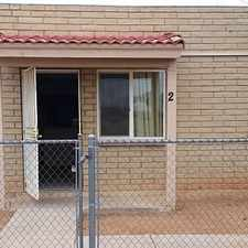 Rental info for Quaint 2 Bedroom 1 Bathroom Apartment In Apache...