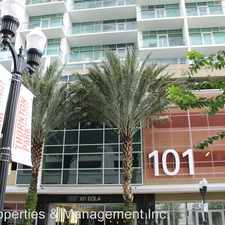 Rental info for 101 S Eola Drive Unit #808 in the South Eola area