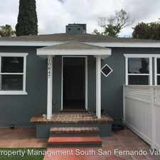 Rental info for 10847 Hesby in the Los Angeles area