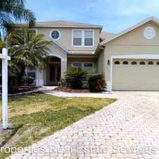 Rental info for 3338 Red Ash Circle in the Oviedo area